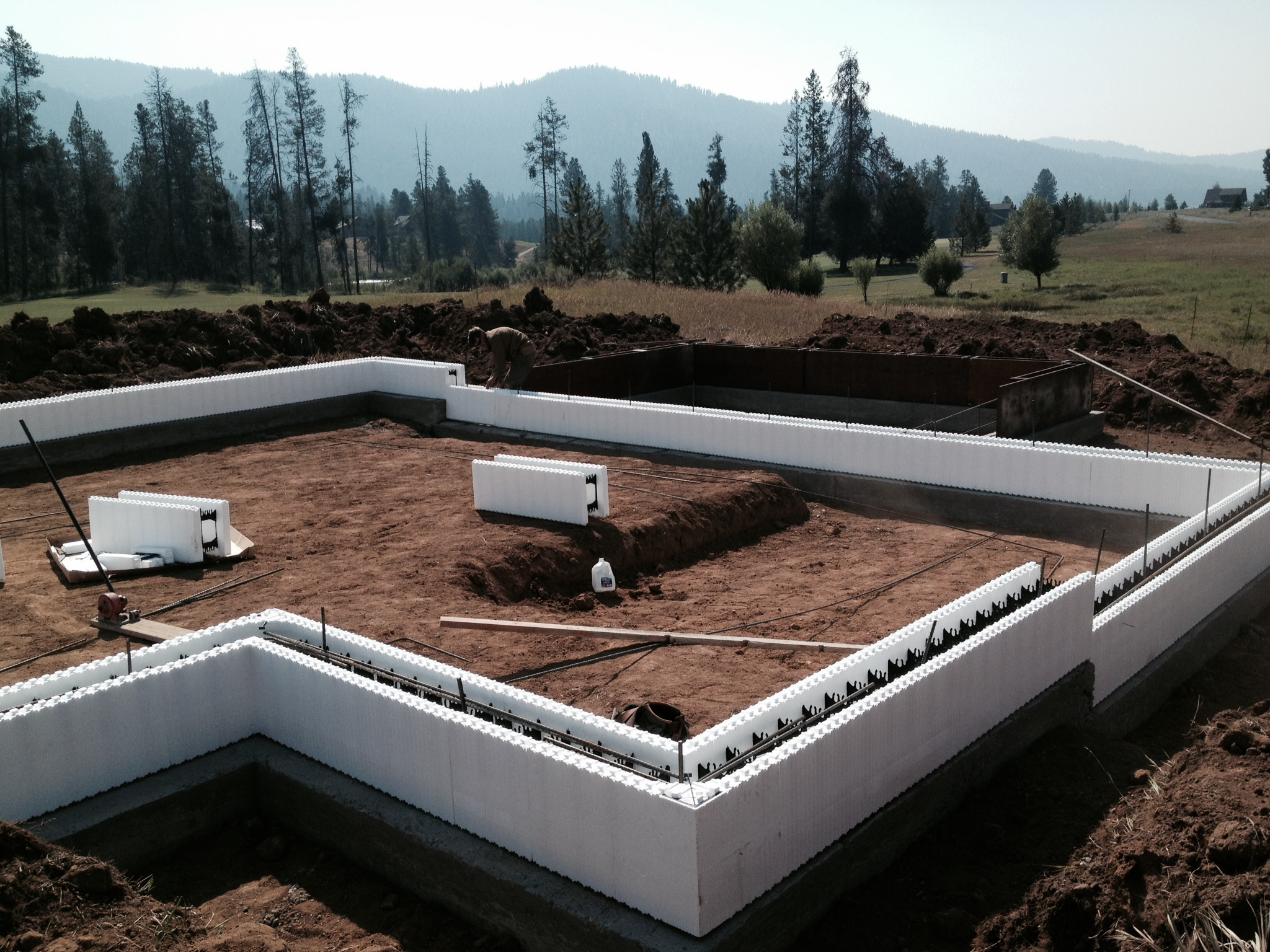 Building a strong foundation jug mountain ranch for Home foundation