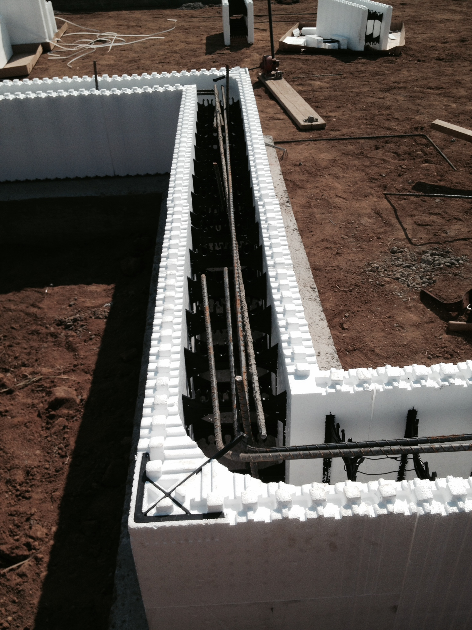 Building a strong foundation jug mountain ranch for Foam basement forms